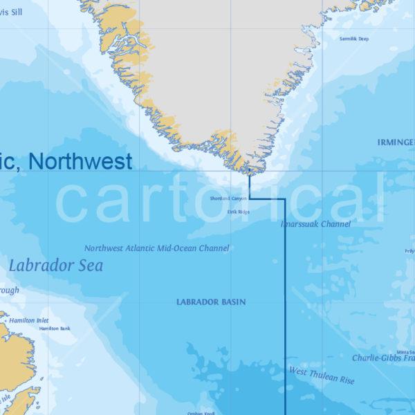Cartorical World Marine Map