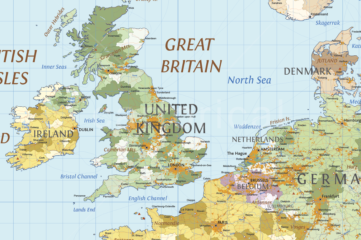 World political map vector maps cartorical world political map gumiabroncs Choice Image
